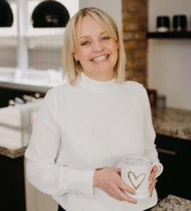 Essex wedding planner Hayley Jayne Weddings & Events with heart mug