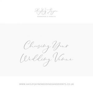 Choosing Your Wedding Venue | Essex Wedding Planner
