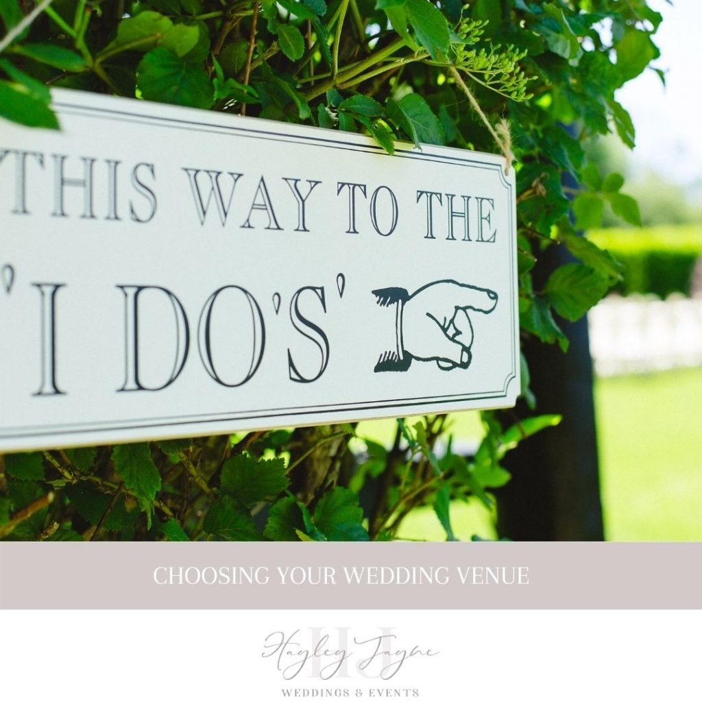 Choosing Your Wedding Venue | Essex Wedding Planner