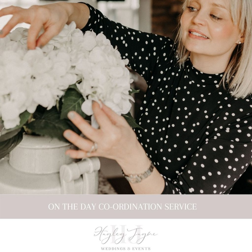 On The Day Co-ordination Service | Essex Wedding Planner