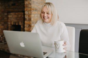 Essex wedding planner Hayley Jayne Weddings & Events laughing