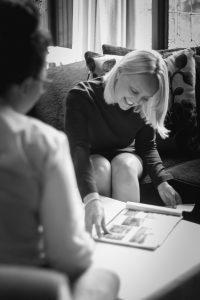 Essex wedding planner conducting a wedding consultation