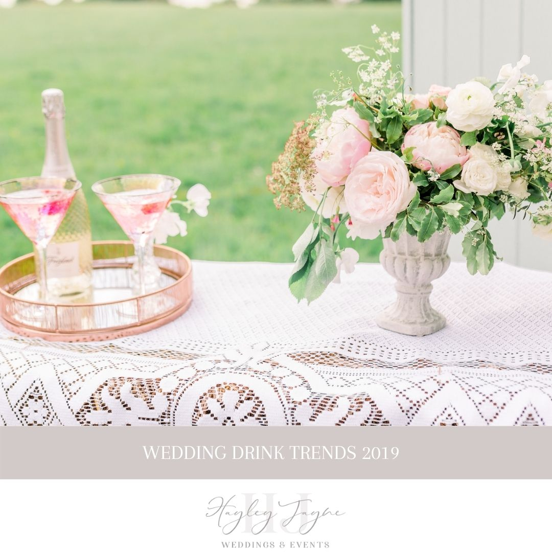 Wedding Drink Trends | Essex Wedding Planner