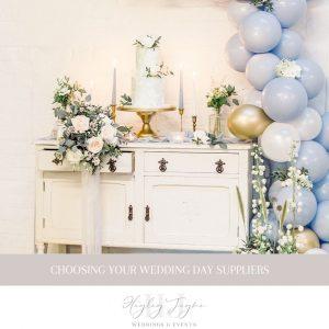 Wedding Day Suppliers | Essex Wedding Planner