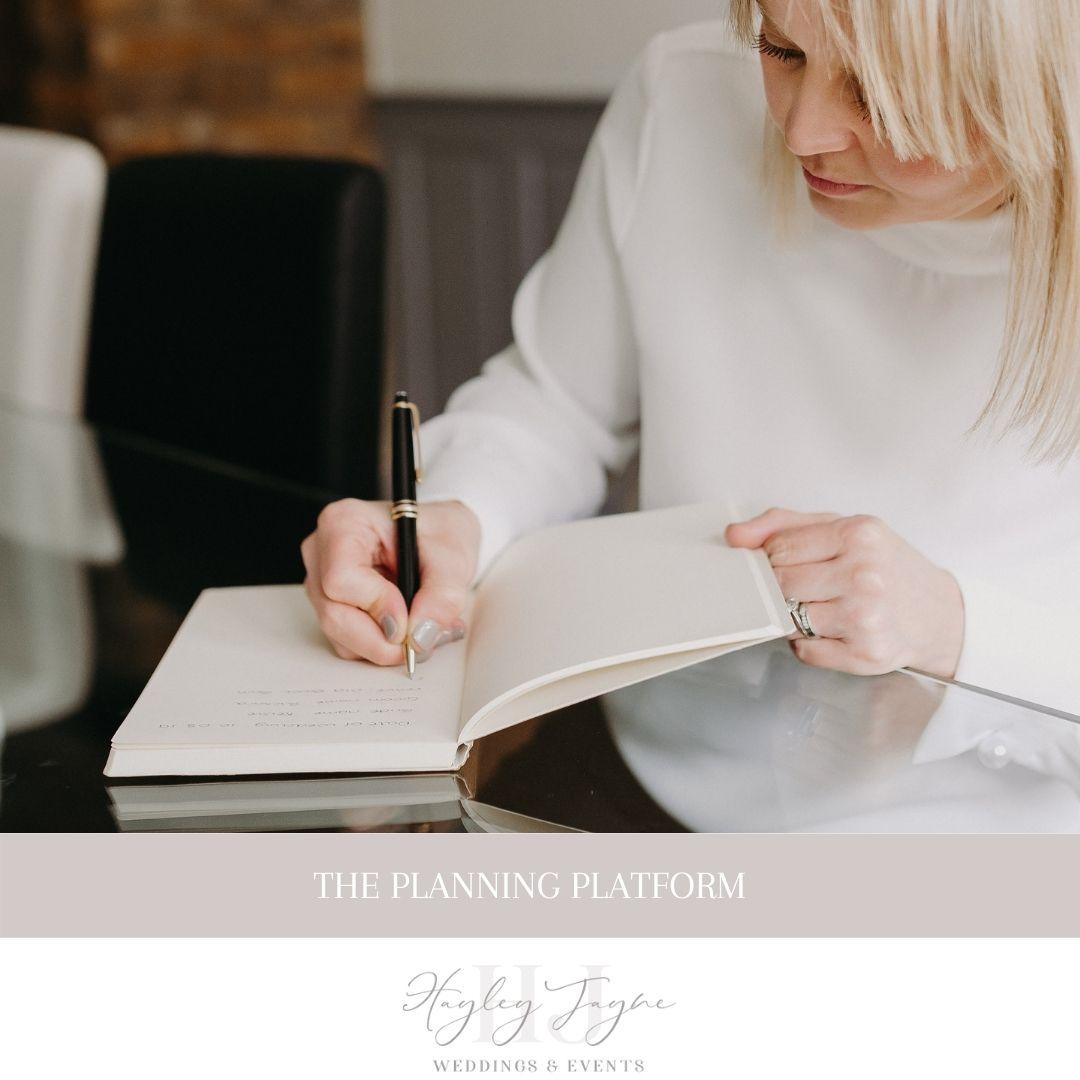 The Planning Platform | Essex Wedding Planner