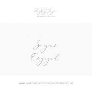 Things to do when you engaged from Essex wedding planner