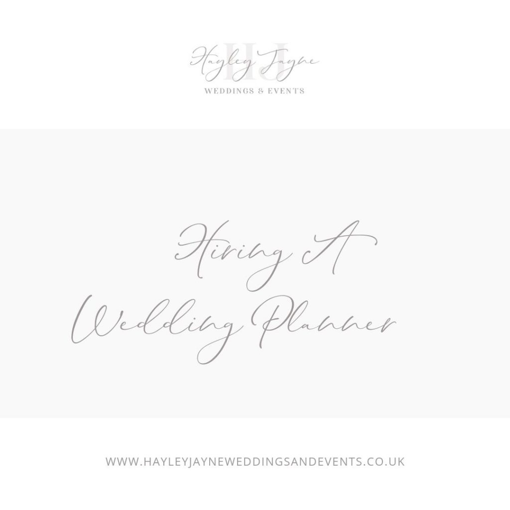 Hiring a wedding planner from Essex wedding planner