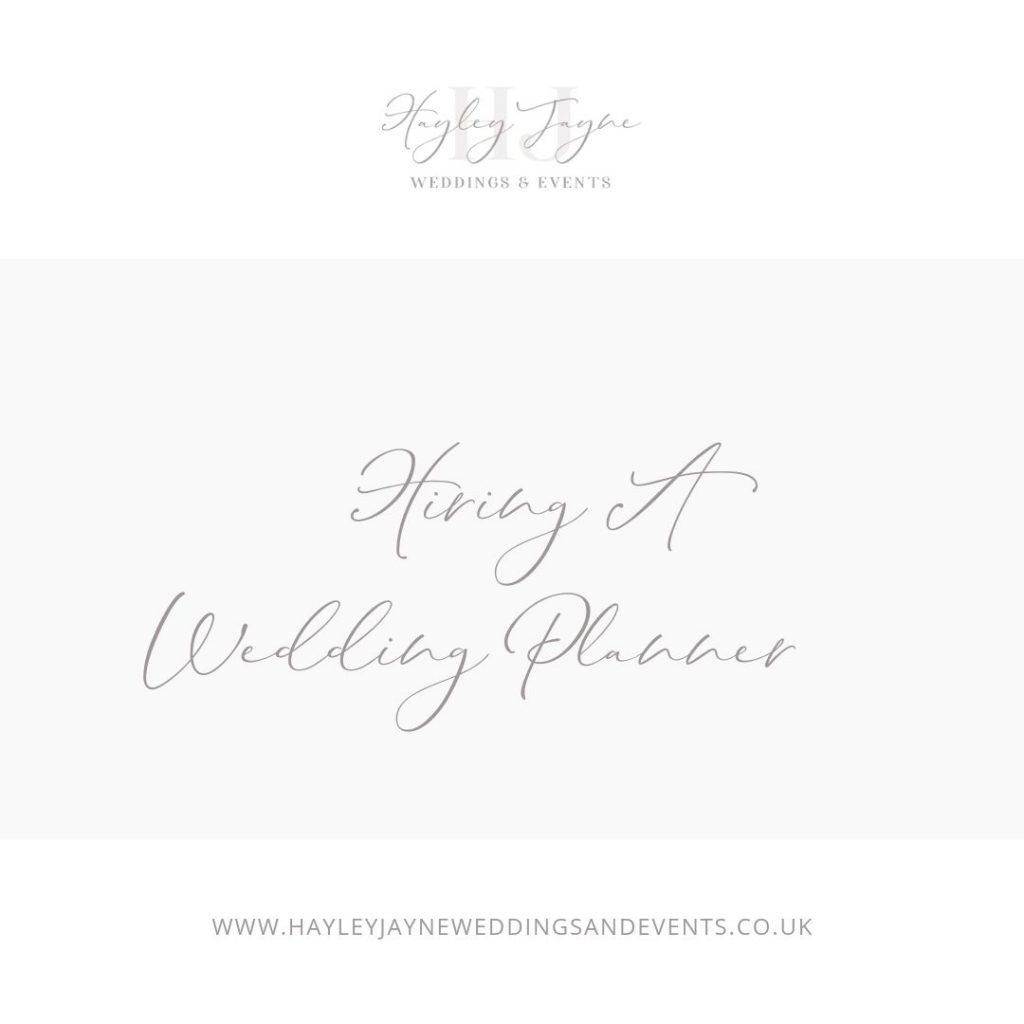 Hiring a wedding planner from Essex wedding planner