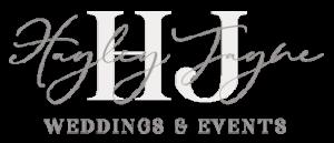 Hayley Jayne Wedding and Event Planner Logo