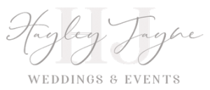Hayley Jayne Wedding and Event Planner Logo