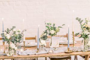 Wedding Breakfast table styling