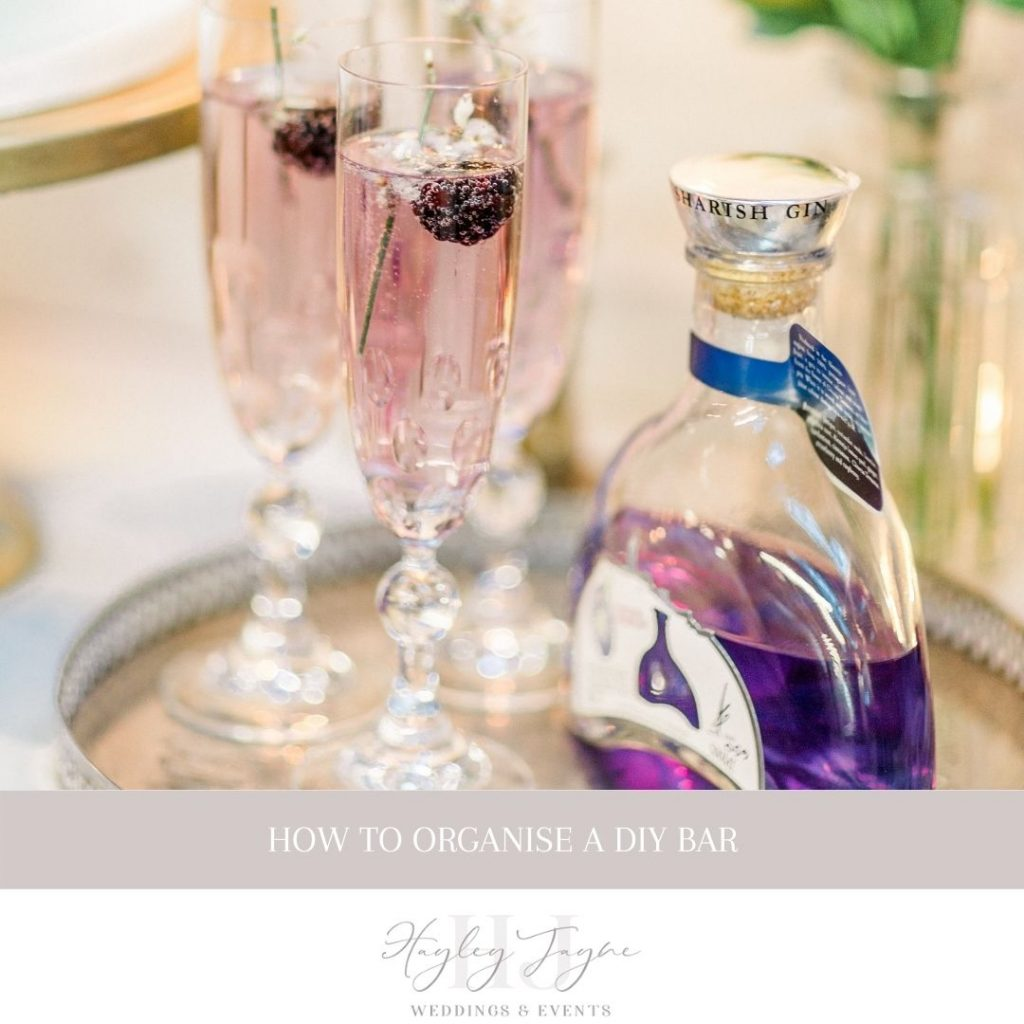 Planning Your DIY Bar | Essex Wedding Planner
