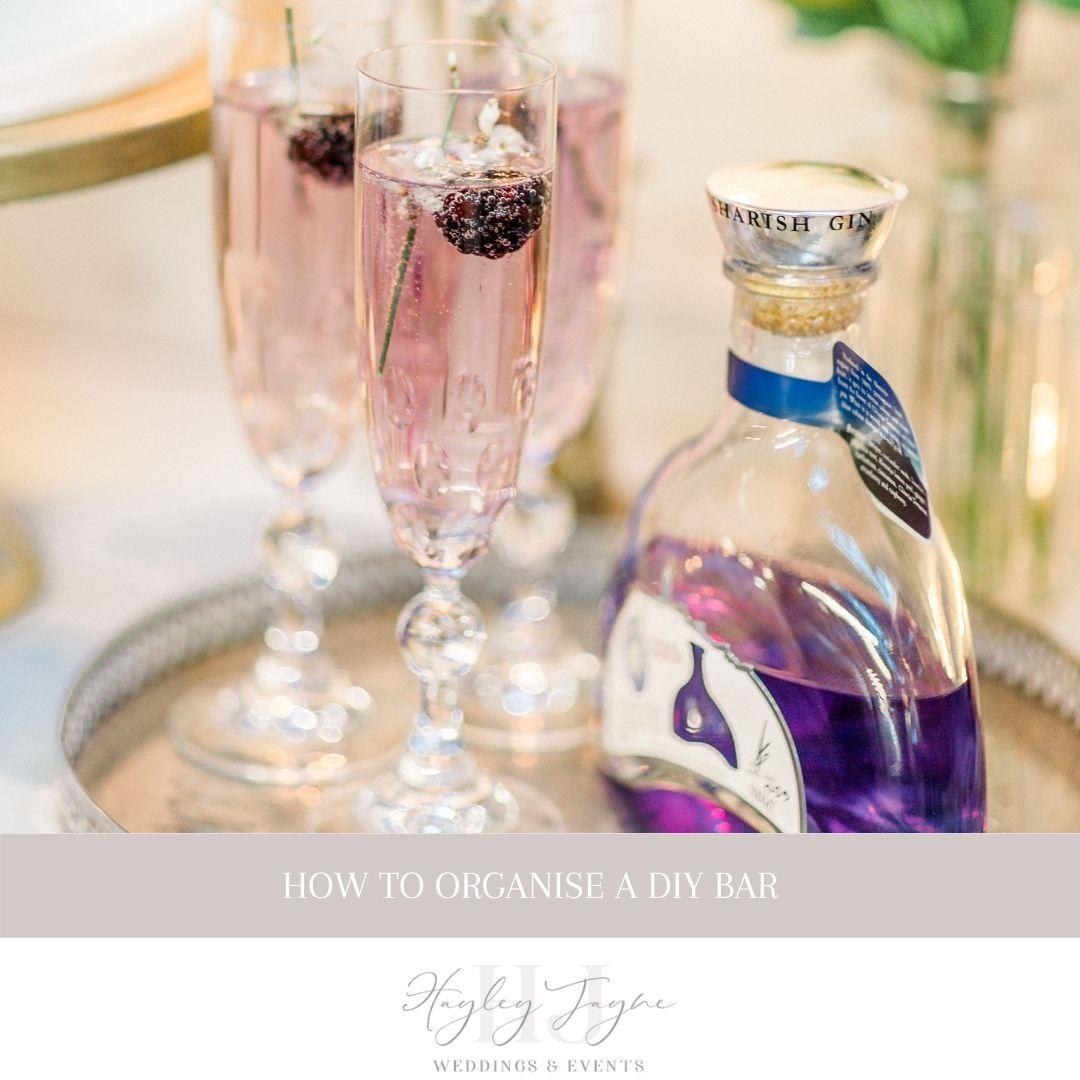 Planning Your DIY Bar | Essex Wedding Planner
