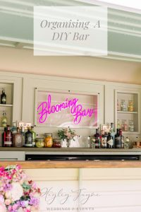 Organising a DIY Bar | Essex Wedding Planner
