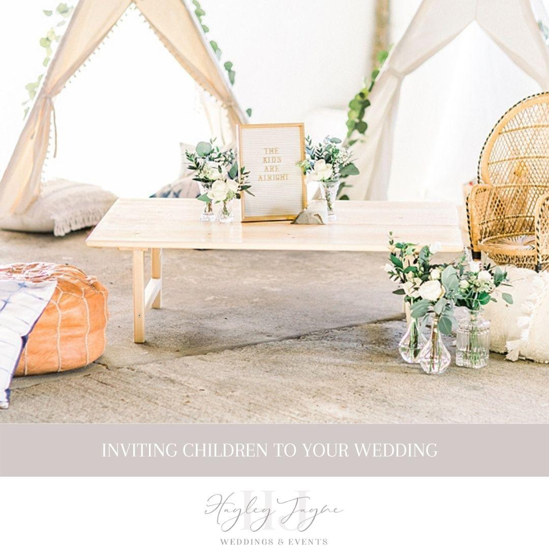 Inviting Children To Your Wedding | Essex Wedding Planner
