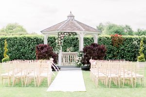 Outside wedding ceremony set up | Essex Wedding Planner