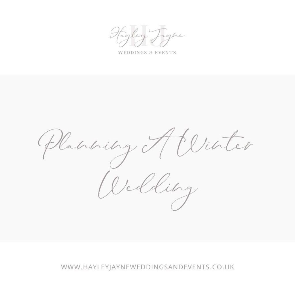 Planning a Winter Wedding From Essex Wedding Planner