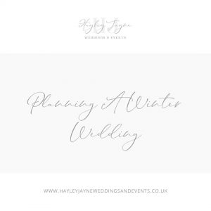 Planning a Winter Wedding From Essex Wedding Planner