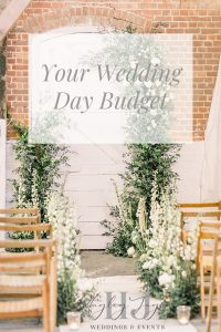 Your Wedding Day Budget | Essex Wedding Planner