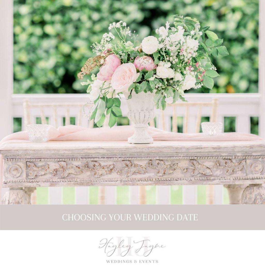 Choosing your wedding date | Essex Wedding Planner