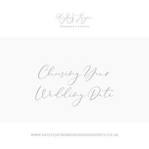 Choosing Your Wedding date | Essex Wedding Planner