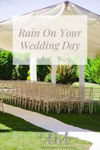 Rain On Your Wedding Day | Essex Wedding Planner