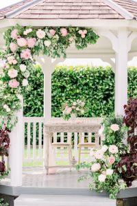 Outdoor wedding ceremony set up | Essex Wedding Planner