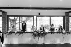 Guests enjoying wedding speeches | Essex Wedding Planner
