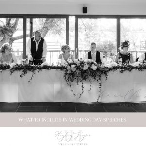 Wedding Day Speeches | Essex Wedding Planner