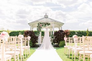 Bride standing at the alter | Essex Wedding Planner