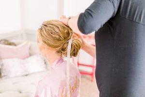 Bridal hair preparations | Essex Wedding Planner