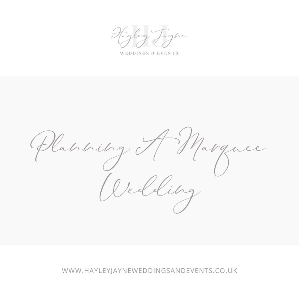 Planning A Marquee Wedding | Essex Wedding Planner