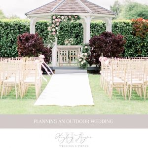Planning An Outdoor Wedding | Essex Wedding Planner