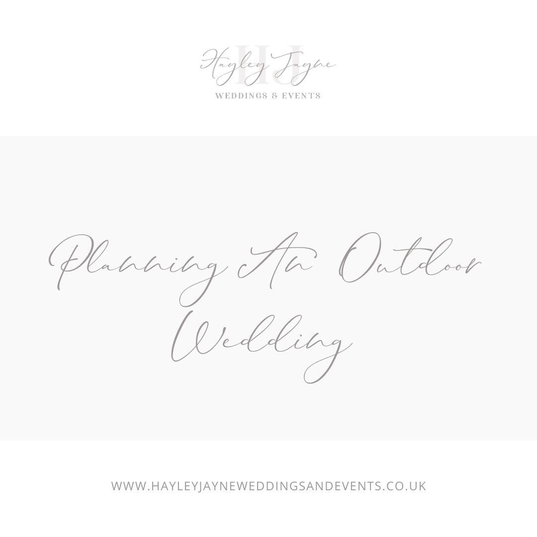 Outdoor Wedding | Essex Wedding Planner
