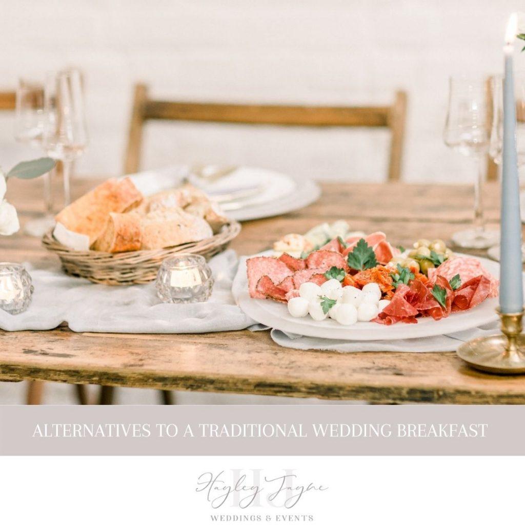 Alternative Wedding Breakfast Ideas | Essex Wedding Planner