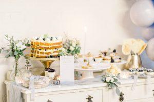 Dessert table on a wedding day | Essex wedding planner
