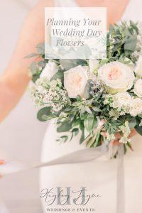 Planning Your Wedding Day Flowers Graphic | Essex Wedding Planner