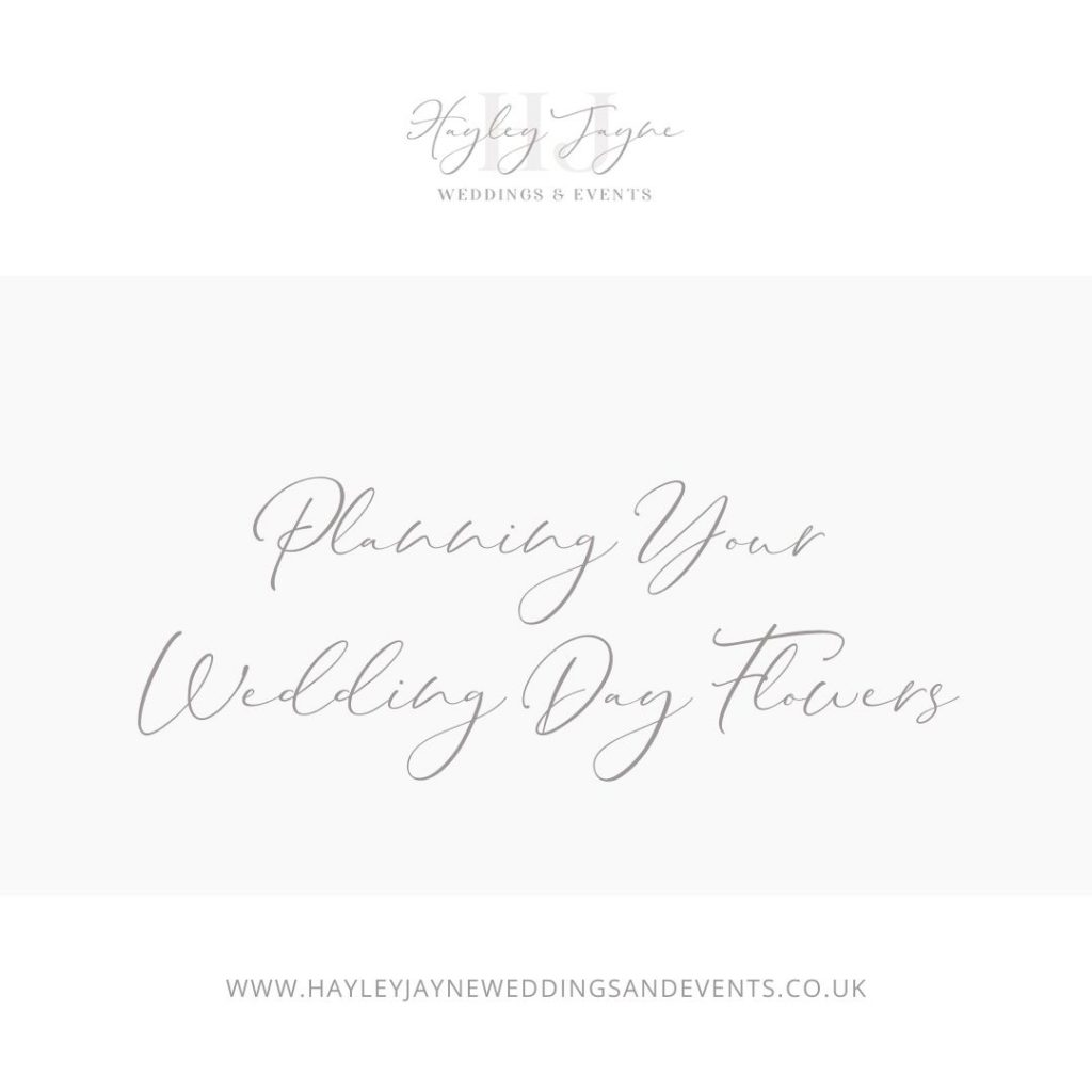 Wedding Day Flowers | Essex Wedding Planner