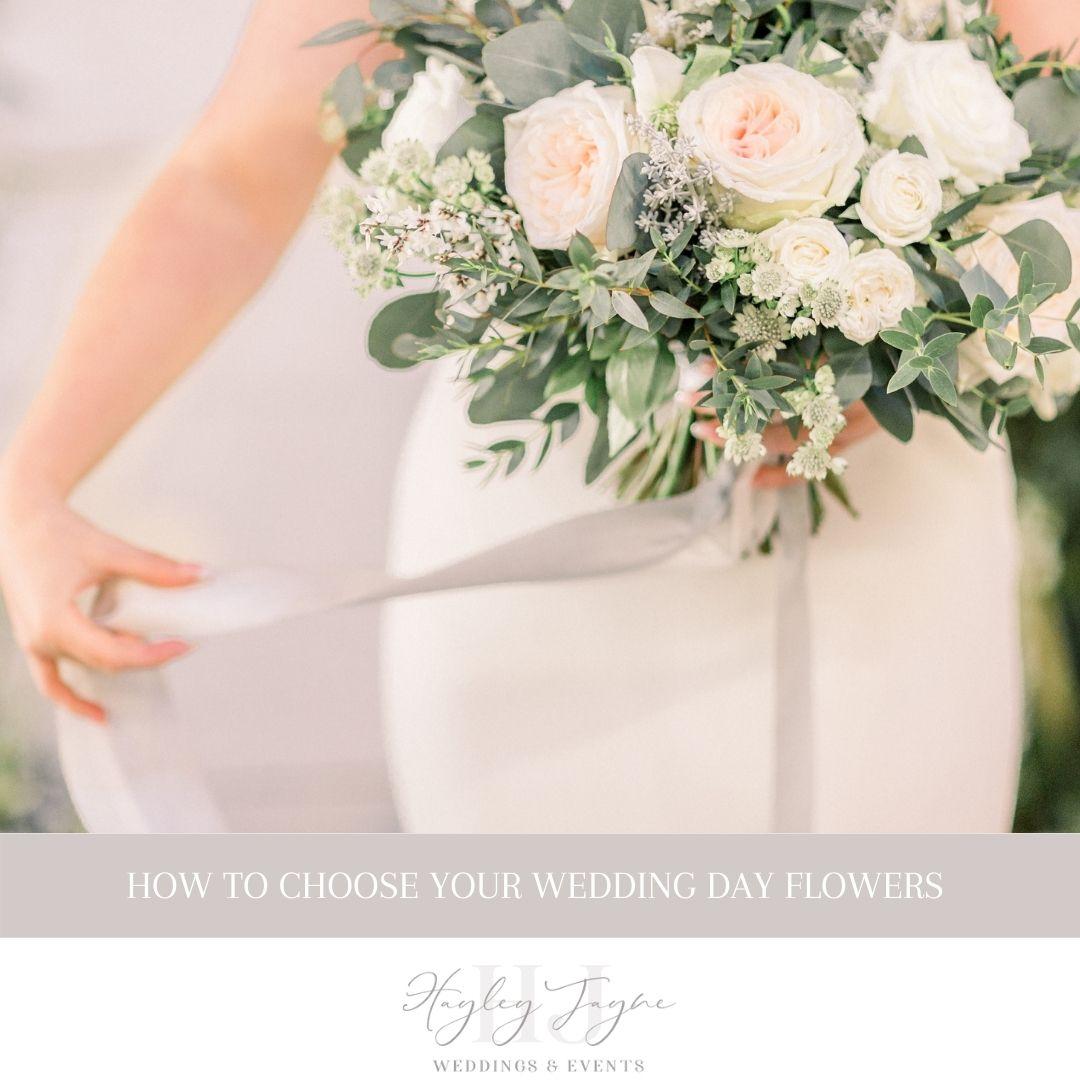 Choosing your wedding day flowers | Essex Wedding Planner