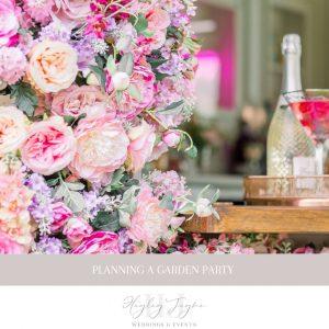 Planning a garden party | Essex Wedding planner