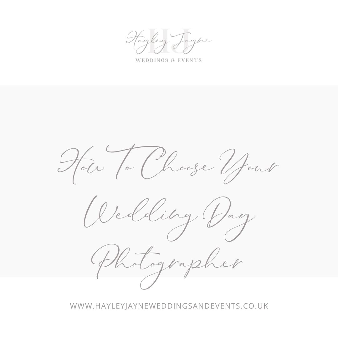 How to choose your wedding day photographer | Essex Wedding Planner