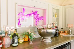 Wedding Bar Set Up | Essex Wedding Planner