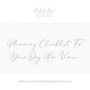 Planning checklist | Essex Wedding Planner