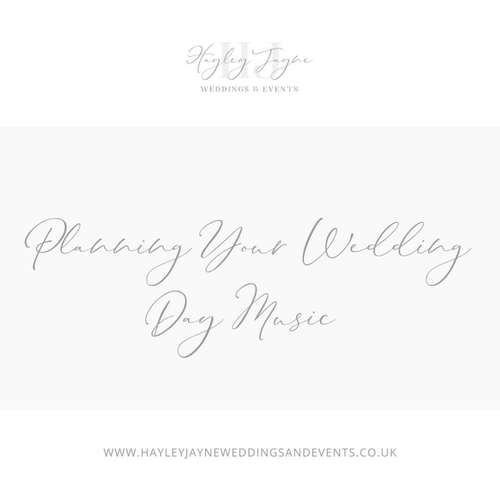 Planning Your Wedding Day Music | Essex Wedding Planner