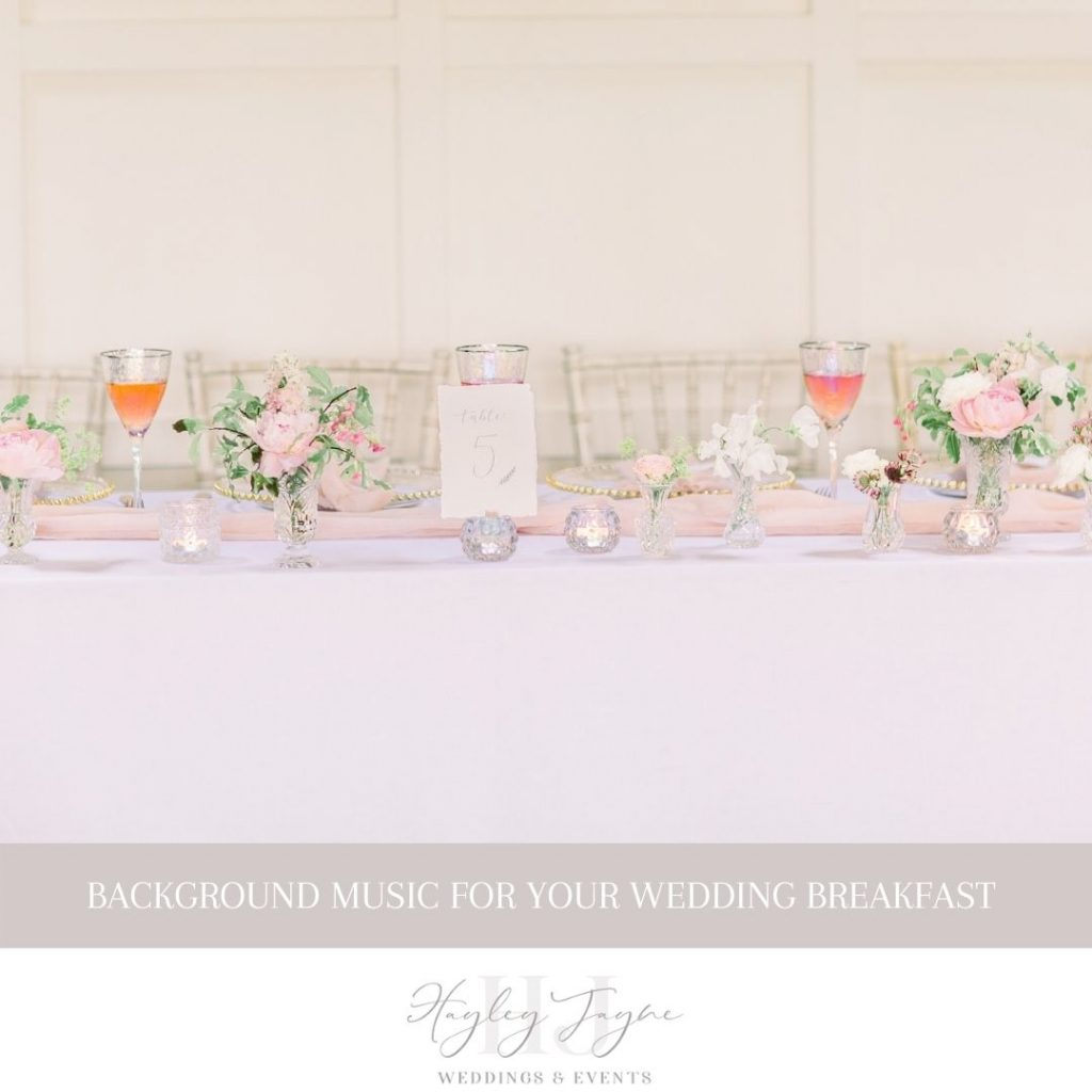 Background Music For Your Wedding Day | Essex Wedding Planner