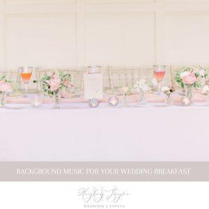 Background Music For Your Wedding Day | Essex Wedding Planner