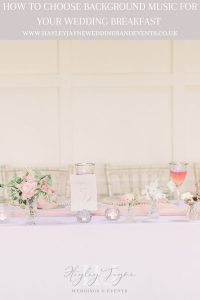 Wedding table with pink & white flowers | Essex Wedding planner