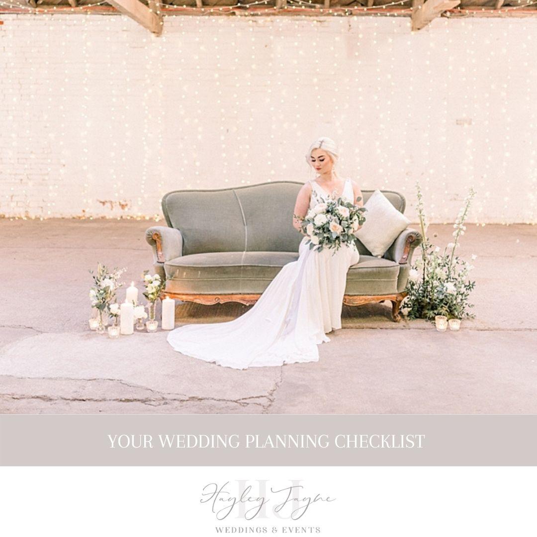 Wedding Planning Checklist | Essex Wedding Planner