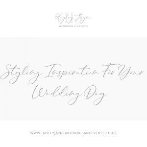 Wedding Styling Inspiration | Essex Wedding Planner