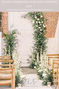 Wedding Day Styling | Essex Wedding Planner